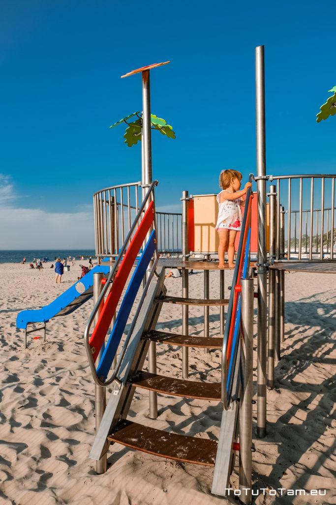 Kołobrzeg Plażowy plac zabaw