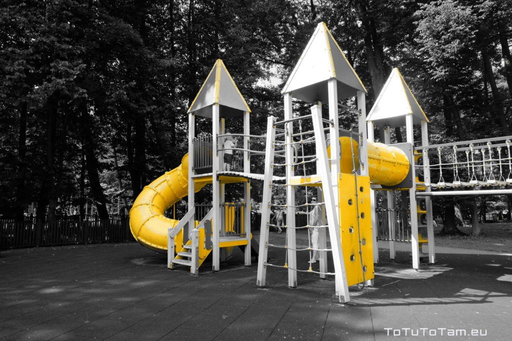 Plac zabaw Park Miejski im. Majkowskiego Wejherowo