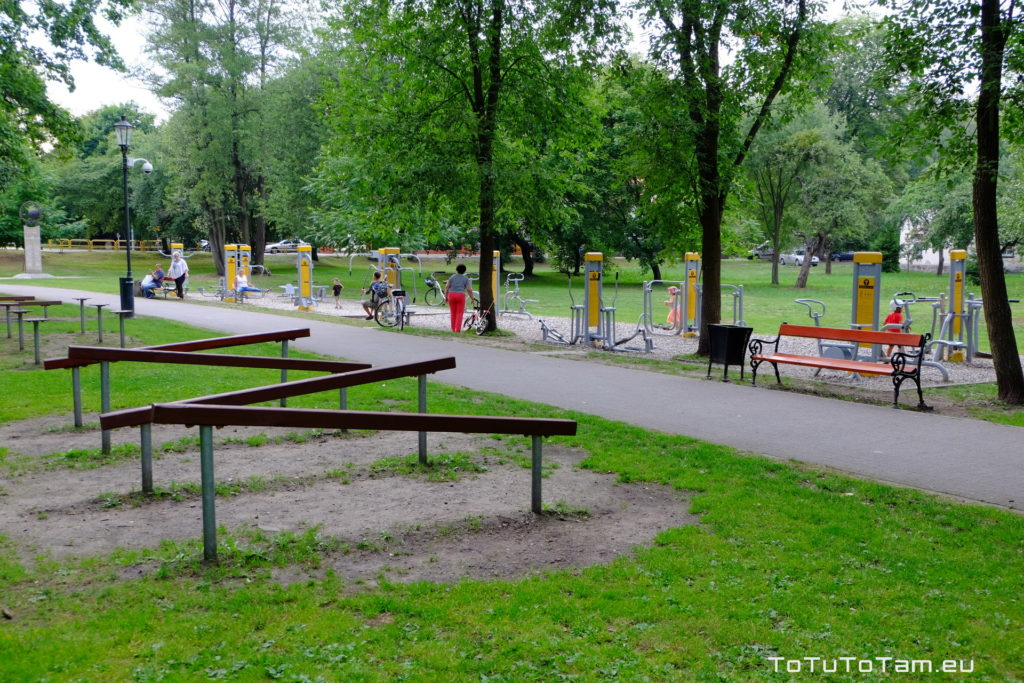 Siłownia Park Miejski im. Majkowskiego Wejherowo