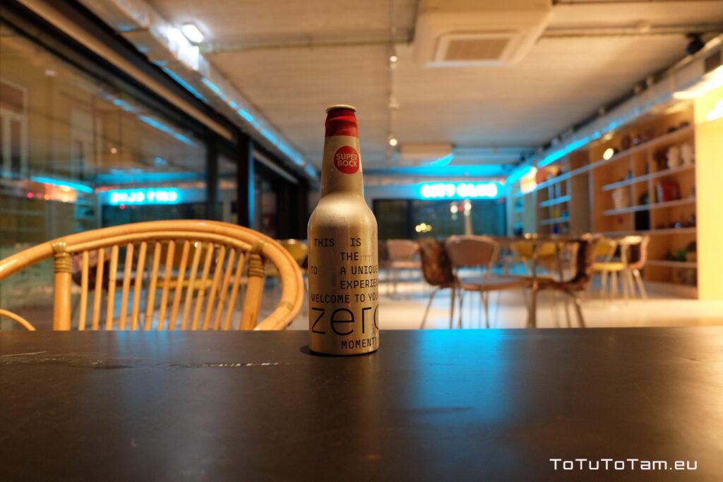 Hotel Zero Box Lodge Porto welcome drink