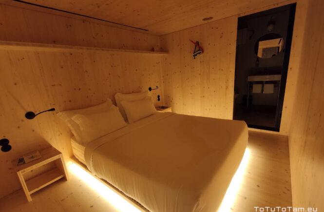 Zero BOX Hotel Porto pokój