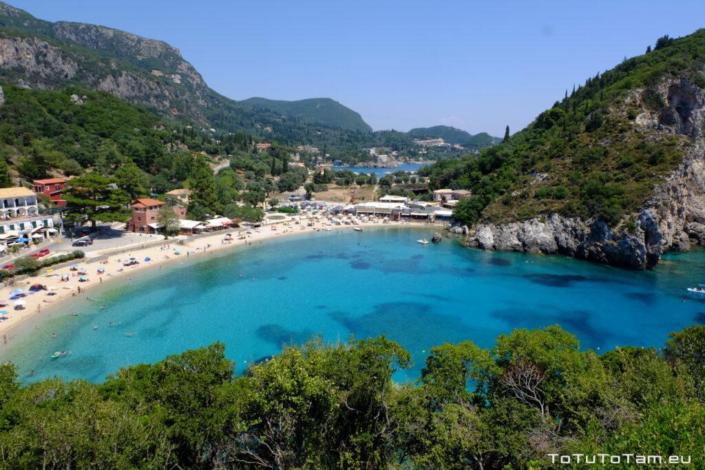 Korfu Agios Spiridon Beach