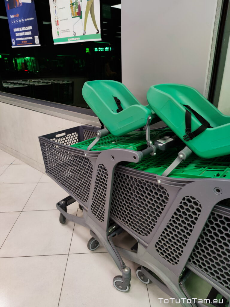 Mercadona wózki