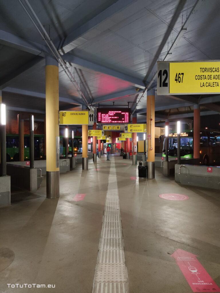 Teneryfa dworzec autobusowy