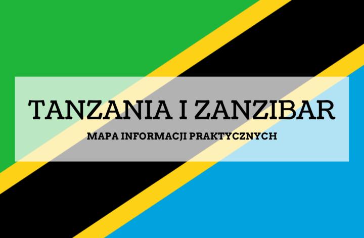 TANZANIA ZANZIBAR mapa